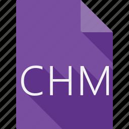 chm, document icon