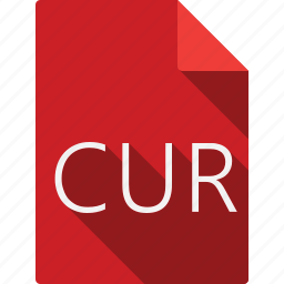 cur, document icon