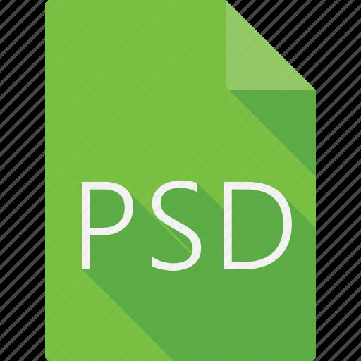 document, psd icon