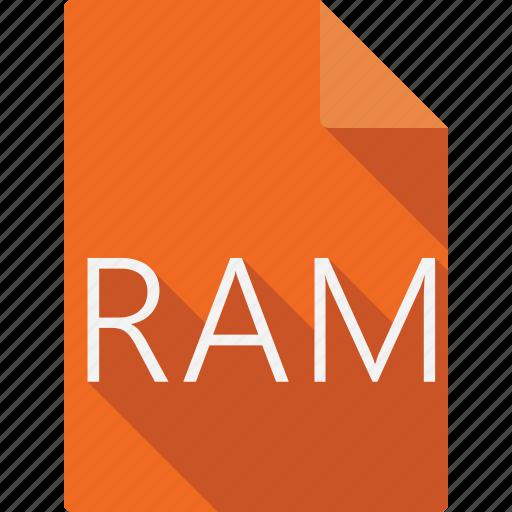 document, ram icon