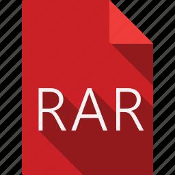 document, rar icon