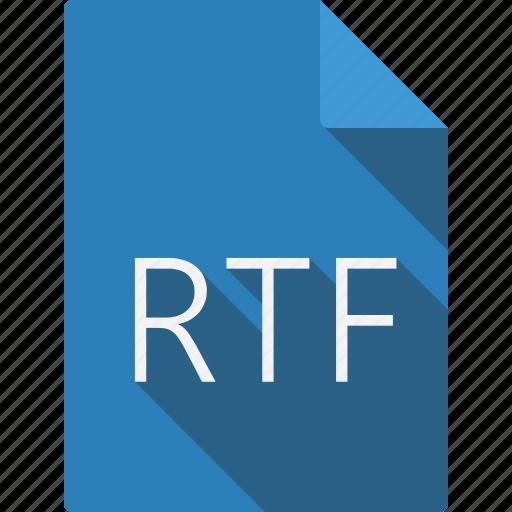 document, rtf icon