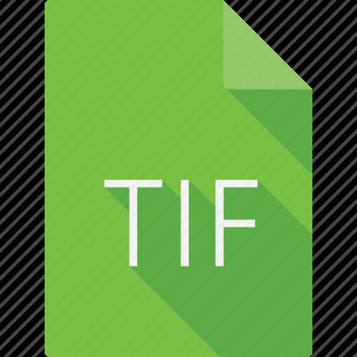 document, tif icon