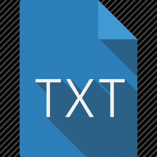 document, txt icon
