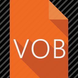 document, vob icon