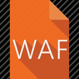document, waf icon