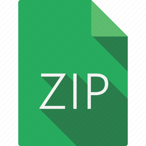 document, zip icon