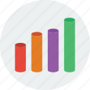 analytics, bar, business, chart, graph, statistics icon