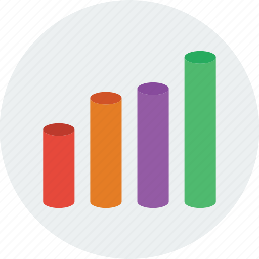 Chart, graph, statistics, bar, business, analytics icon