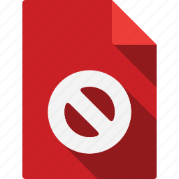 closed, document icon
