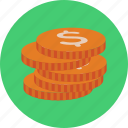 coin, financial, business, money, dollar, cash, ecommerce