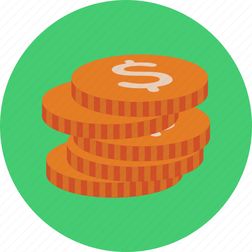 business, cash, coin, dollar, ecommerce, financial, money icon