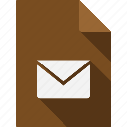 document, email icon