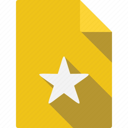 document, favorite icon
