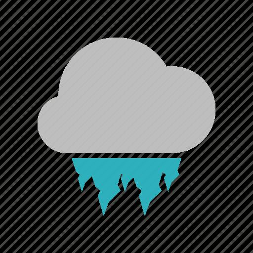 hailstones, heavy icon