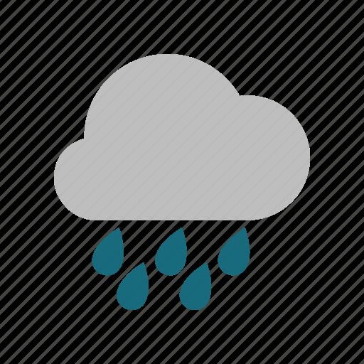 heavy, rainy icon