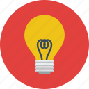 creative, creativity, idea, lamp icon