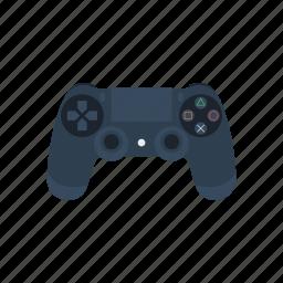 joystick, ps4 icon
