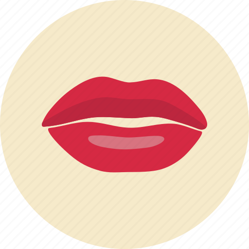 Lips, mouth, female, human icon - Download on Iconfinder
