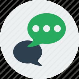bubble, comment, communication, message, speech icon