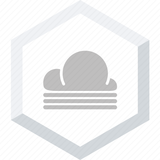 clouds, misty icon