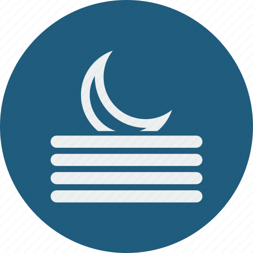 fog, night icon