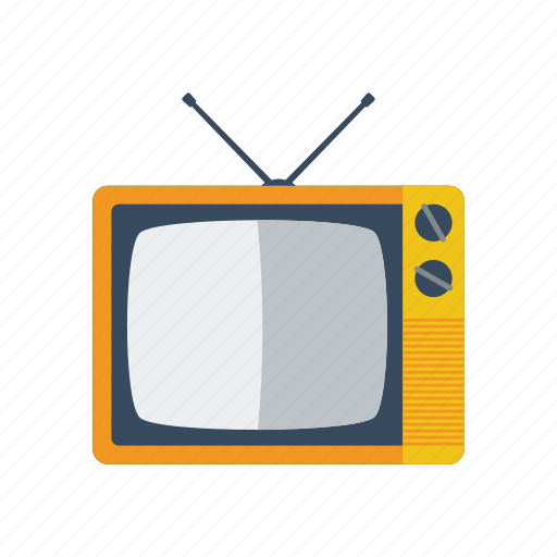 old, television icon