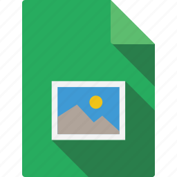 document, picture icon