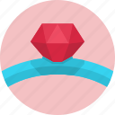 diamond, diamonds, jewelry, ring icon