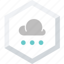 small, snowfall icon