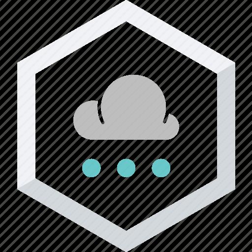 small, snowfall icon