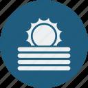 fog, sunny icon