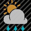 hail, sunny icon