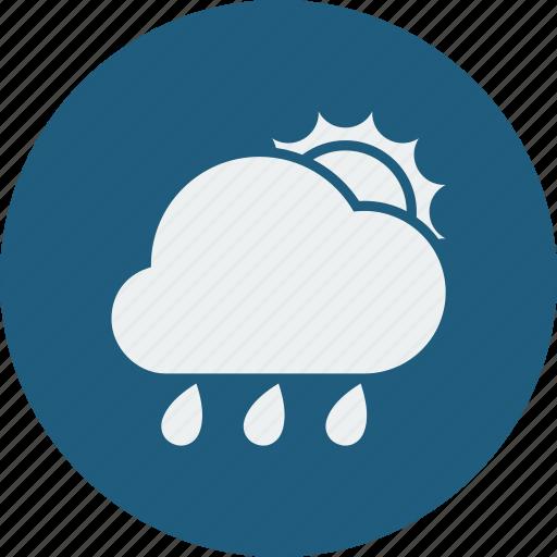 rainy, sunny icon