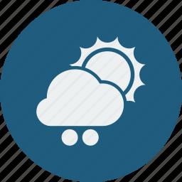 snowball, sunny icon