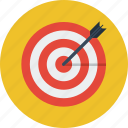 arrows, direction, location, target icon