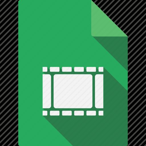 document, video icon