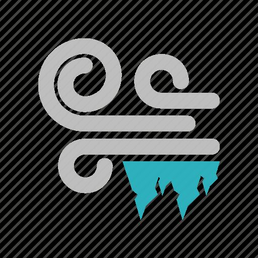 hailstones, windy icon