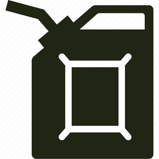 container, gas, gasoline, petrol icon