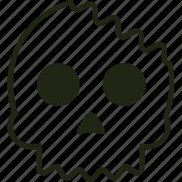 bones, dead, horror, skull icon