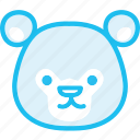 animal, bear, zoo icon