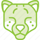 animal, cat, cheetah, zoo icon