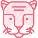 animal, cat, tiger, zoo icon