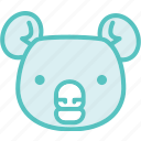 animal, koala, zoo icon