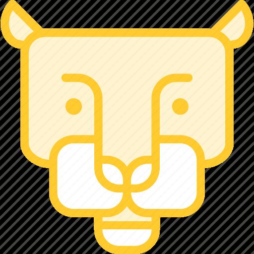 animal, cat, phanter, zoo icon