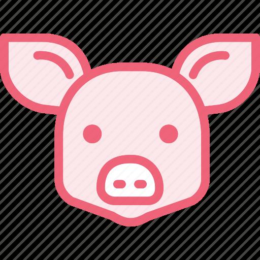 animal, hog, pig, zoo icon