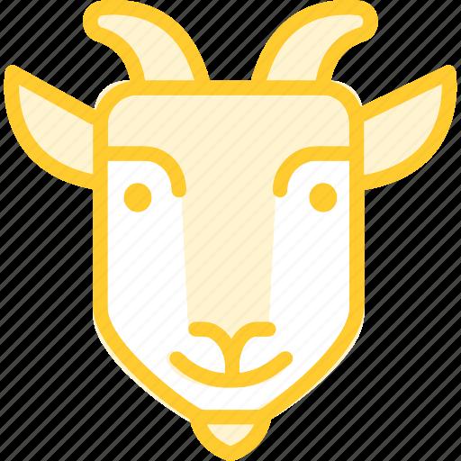 animal, goat, zoo icon