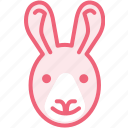 animal, rabbit, zoo icon