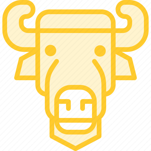animal, bison, zoo icon