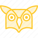 animal, bird, owl, zoo icon